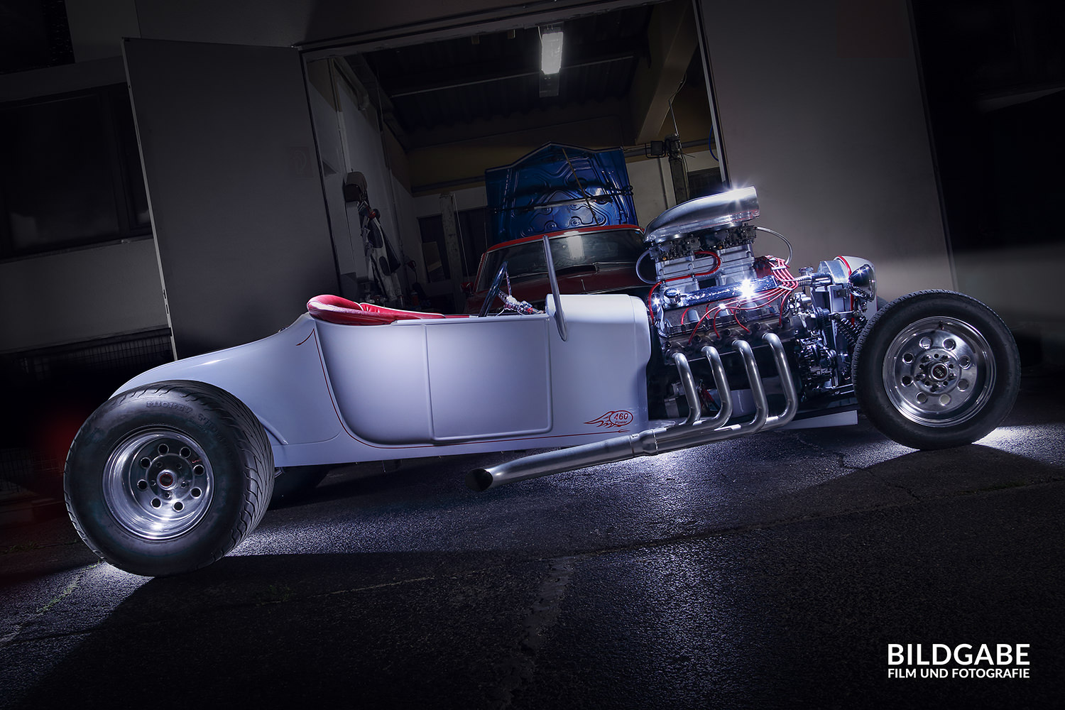 hot rod side